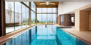 A spa lover's guide to Cornwall  - The Scarlet Spa indoor pool
