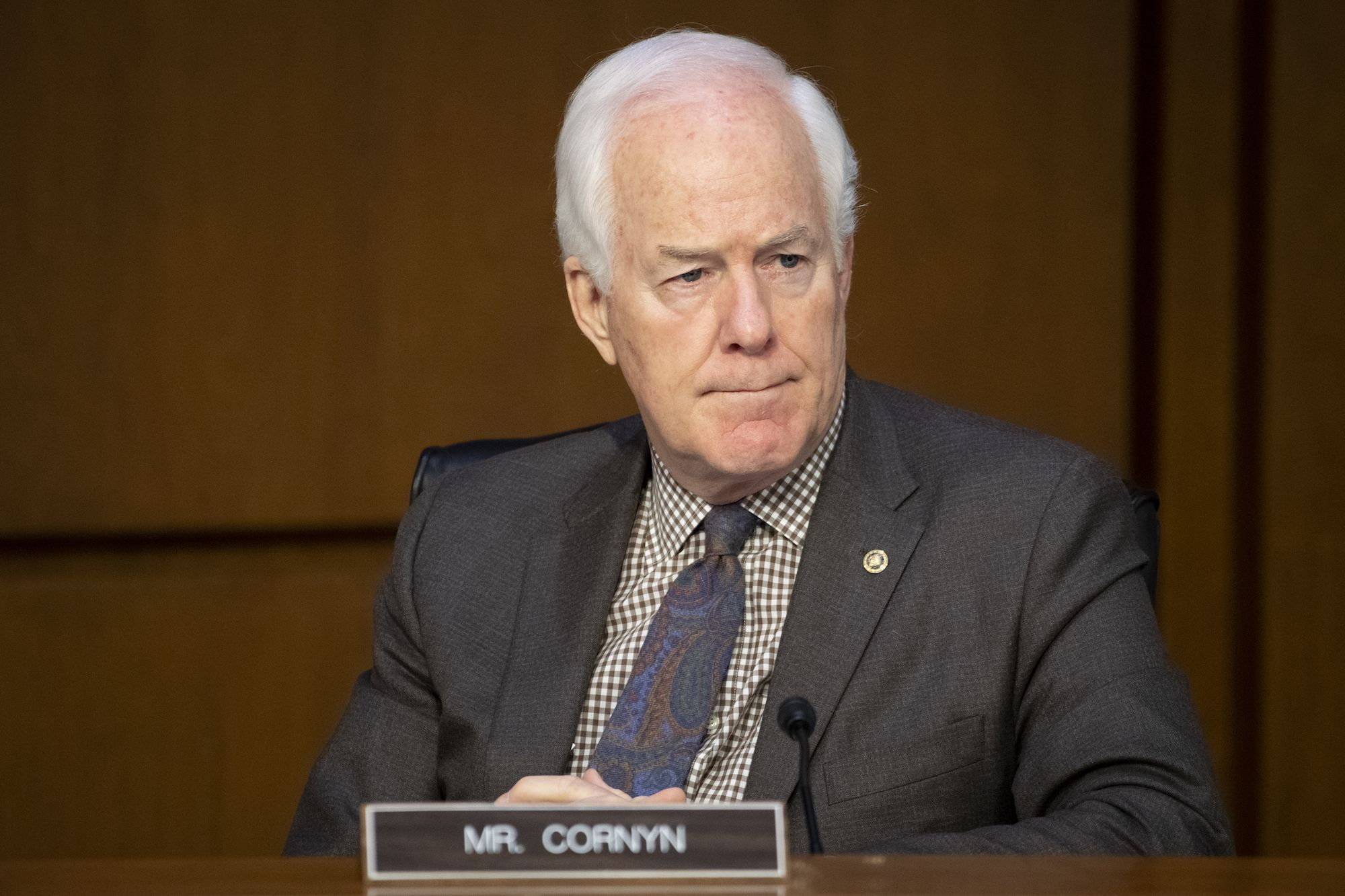 John Cornyn May Be Rehashing a Decades-Old Beef While Blocking a Biden Nominee