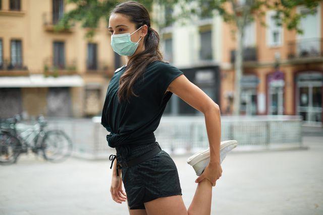 sporten met een mondkapje verstandig of niet