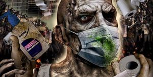 poster de la pelicula corona zombies