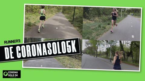 coronasolo5k hardloopwedstrijd corona covid 19