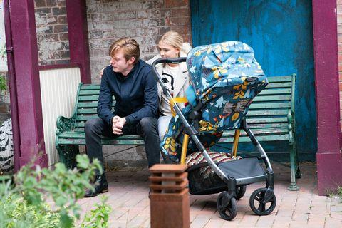 Bethany Platt comforts Daniel Osbourne in Coronation Street
