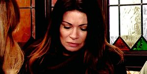 Carla Connor receives a sinister message in Coronation Street