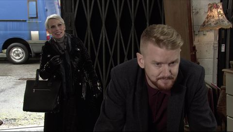 debbie webster and gary windass in coronation street