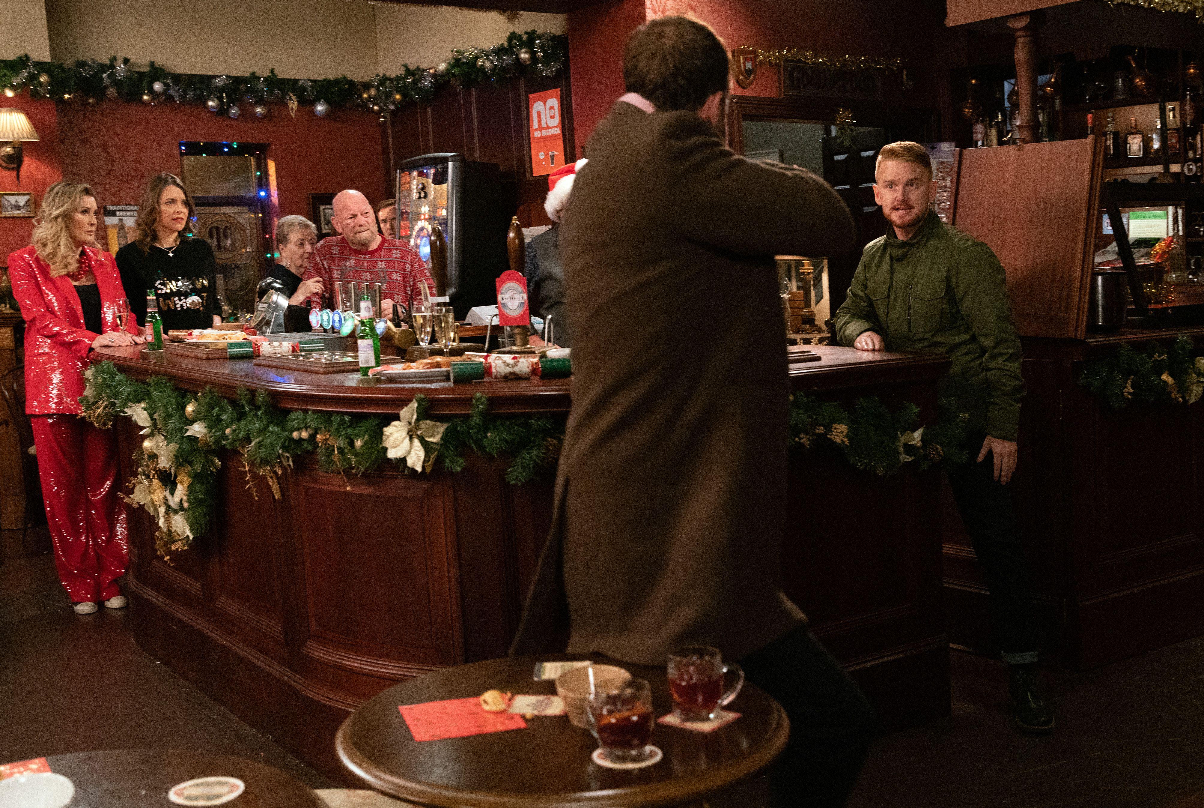 Coronation Street reveals first look at Gary's Christmas Day gun horror