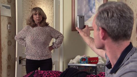 gail rodwell and nick tilsley in coronation street