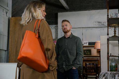 Gary Windass and Claire in Coronation Street