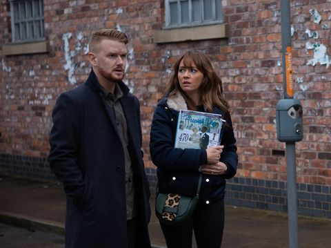 Gary Windass and Maria Connor in Coronation Street