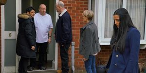 Geoff Metcalfe suffers a heart scare in Coronation Street