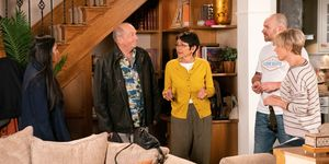 Geoff Metcalfe and Yasmeen Nazir are back in Coronation Street
