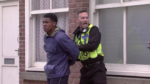 james bailey and pc brody in coronation street