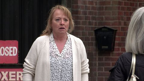 jenny connor and sharon bentley in coronation street