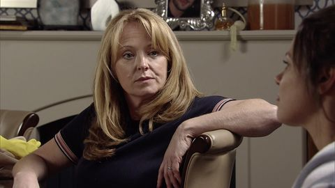 Jenny Connor is getting annoyed in Coronation Street