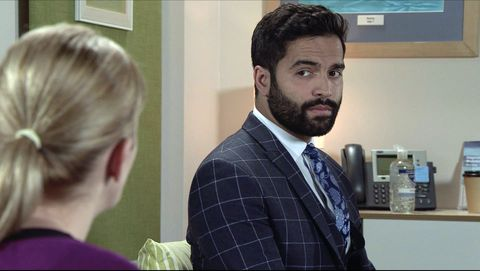 imran habeeb and leanne battersby in coronation street
