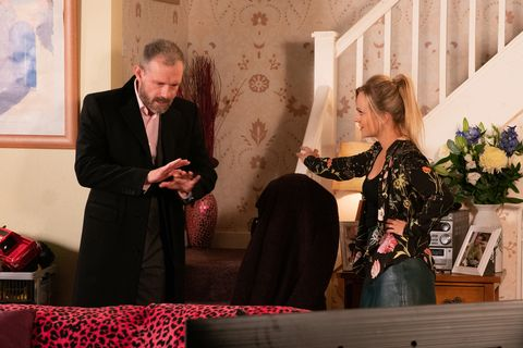 Nick Tilsley and Sarah Platt in Coronation Street