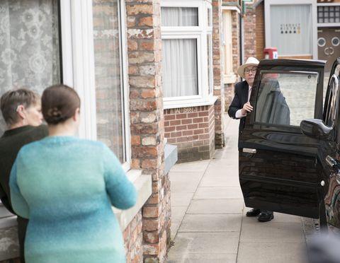Norris Cole returns in Coronation Street