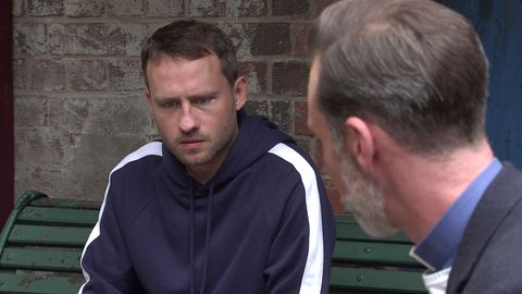 paul foreman and billy mayhew in coronation street