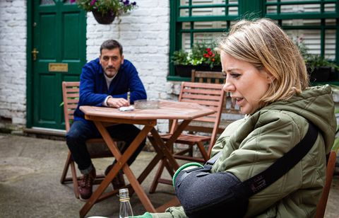 peter barlow and abi franklin in coronation street