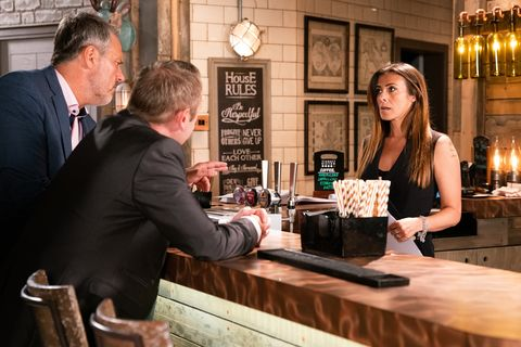 Ray confronts Michelle Connor in Coronation Street