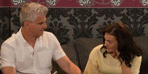 Robert Preston and Vicky Jefferies in Coronation Street