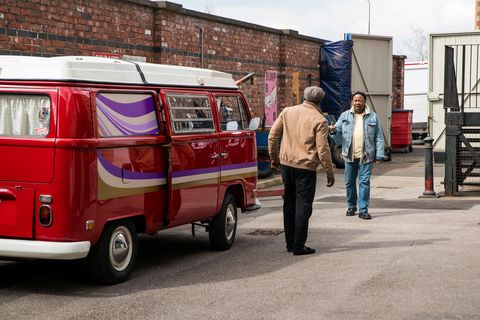 ronnie and ed bailey in coronation street