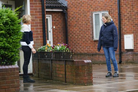 sally metcalfe and abi franklin in coronation street
