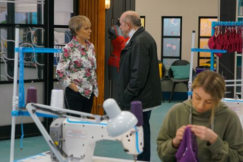 sally and geoff metcalfe in coronation street