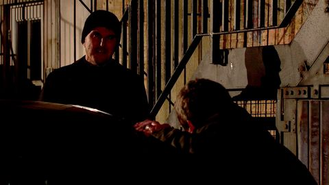 scott emberton and johnny connor in coronation street