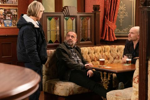 Abi Franklin and Kevin Webster in Coronation Street