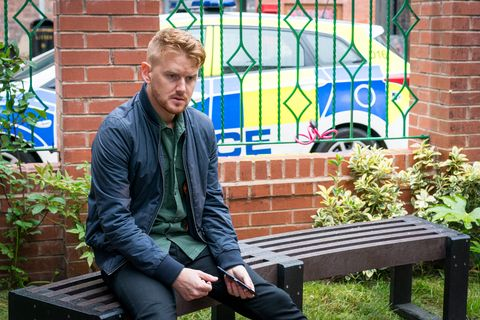 Gary Windass is hauled in by the police again in Coronation Street