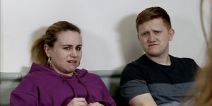 Gemma Winter and Chesney Brown attend their 12-week baby scan in Coronation Street