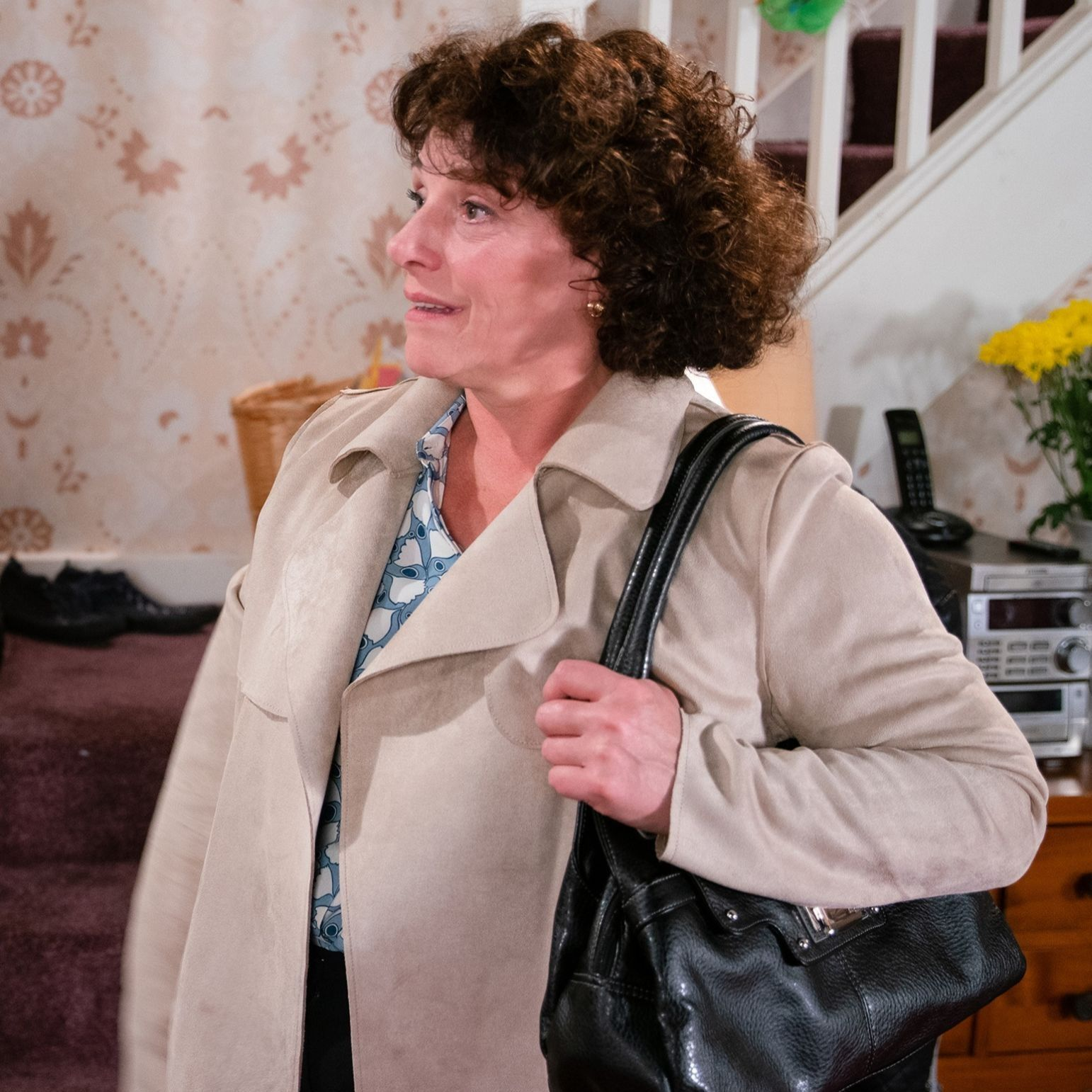 Coronation Street's Marion Logan suffers a setback as Max has second thoughts