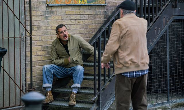 peter barlow with barry in coronation street