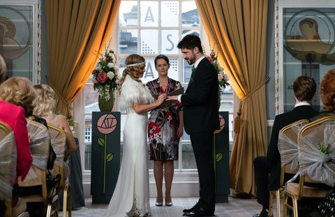 Coronation Street Spoilers Samuel Robertson On Adam S Wedding