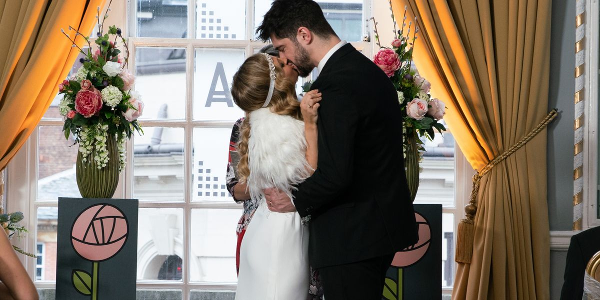 Coronation Street star Samuel Robertson says Adam and Sarah's wedding was emotional