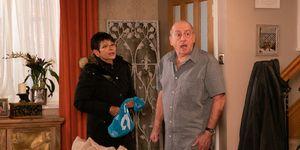 Geoff Metcalfe berates Yasmeen Nazir in Coronation Street