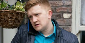 Chesney Brown in Coronation Street