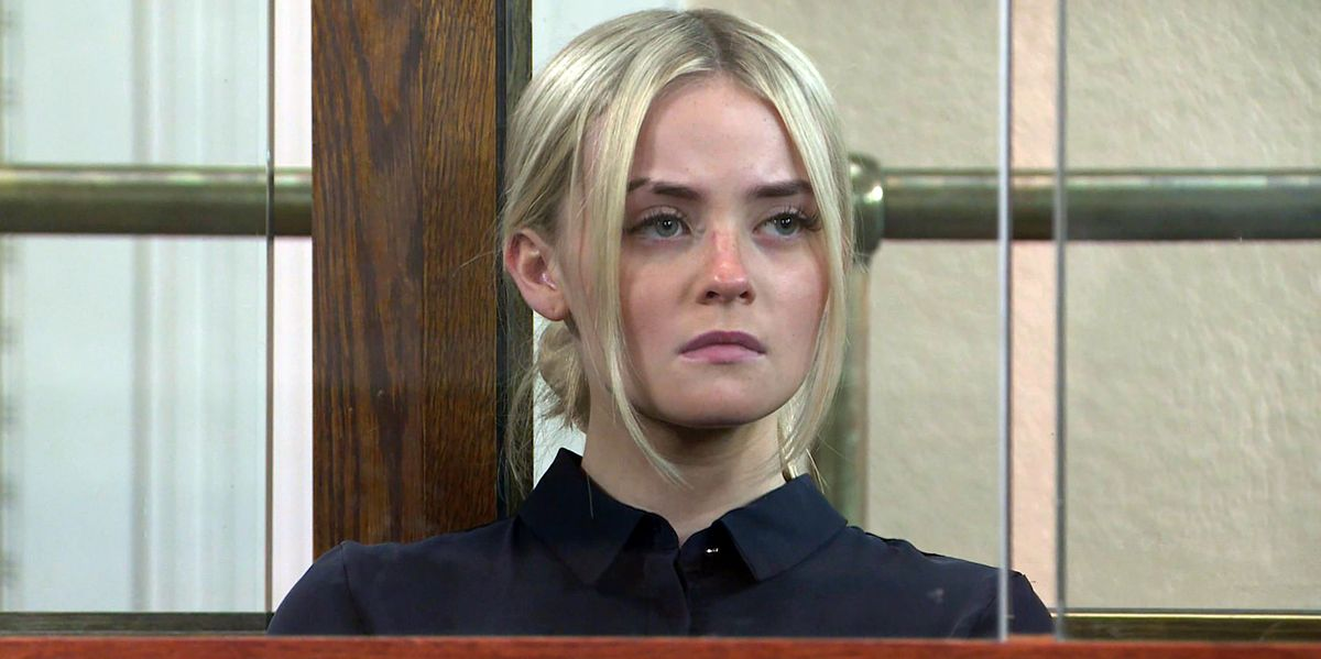Corrie's Millie Gibson calls for happier future for Kelly Neelan