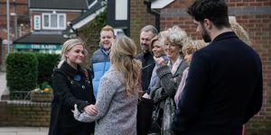 Bethany Platt leaves in Coronation Street