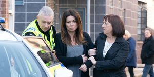 Carla Connor is arrested in Coronation Street