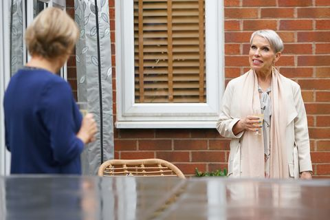 sally metcalfe and debbie webster in coronation street