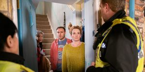 Fiz Stape faces the police in Coronation Street