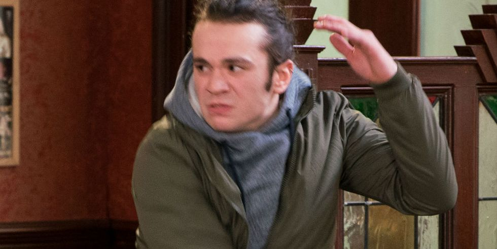 Seb Franklin goes on the attack in Coronation Street