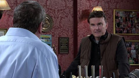 johnny connor and scott emberton in coronation street