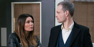 Carla Connor and Nick Tilsley in Coronation Street