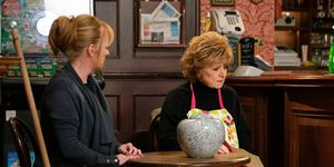 Jenny Connor and Rita Tanner in Coronation Street