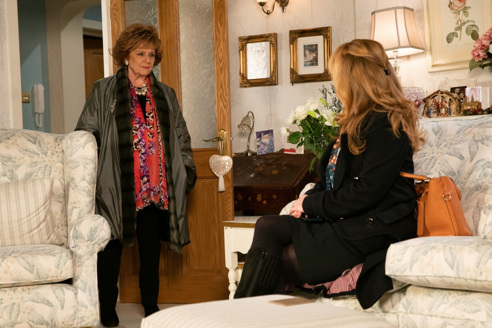 Coronation Street's Rita Tanner in Christmas row with Jenny Connor