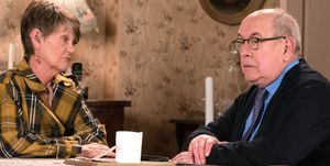 Freda Burgess and Norris Cole in Coronation Street