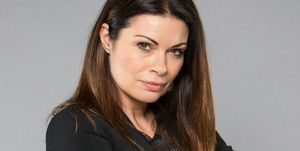 Alison King as Carla Connor in Coronation Street