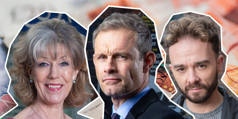 Coronation Street, Audrey Roberts, Nick Tilsley, David Platt, Stolen Money